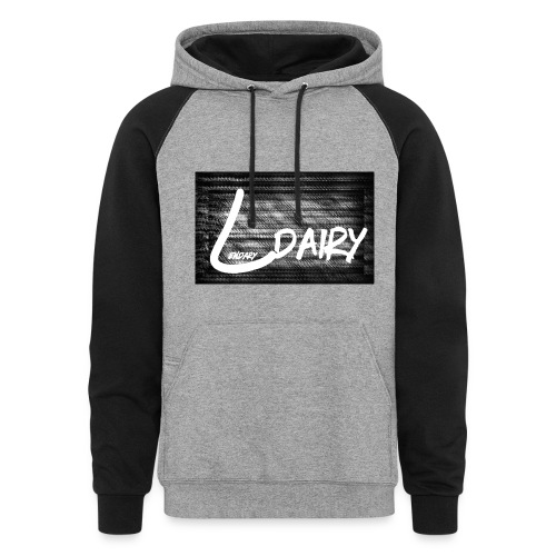 TV Static Custom Sweat Shirt - Colorblock Hoodie