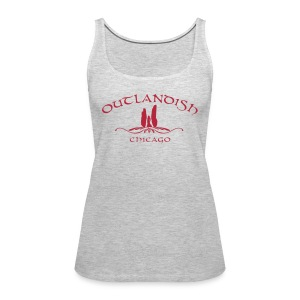 Women's Outlandish Chicago Loose Fit Tank - Women's Premium Tank Top