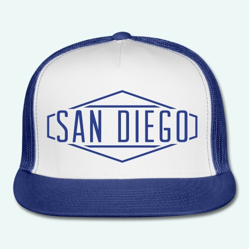 San Diego Trucker Cap - Trucker Cap
