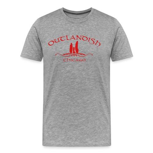 Men's Outlandish Chicago - Men's Premium T-Shirt