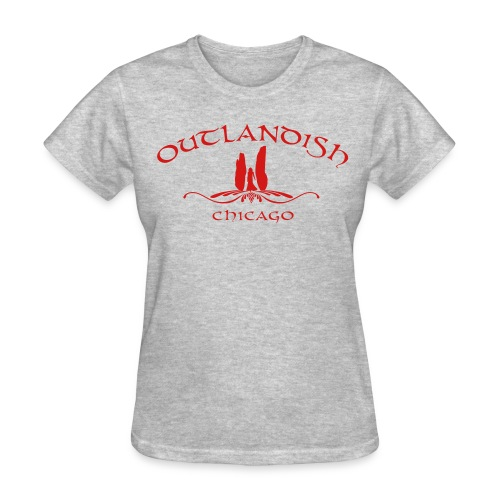 Women's Gilden Outlandish Chicago Tshirt - Women's T-Shirt