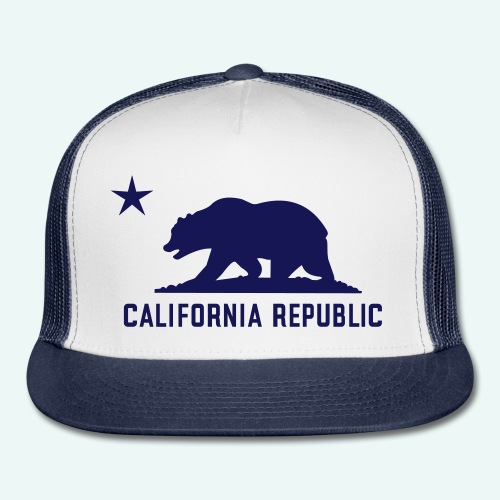 California Republic Trucker Cap - Trucker Cap