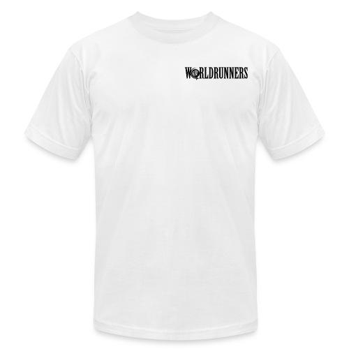 Men's AA Worldrunners Logo T-Shirt - Men's Fine Jersey T-Shirt