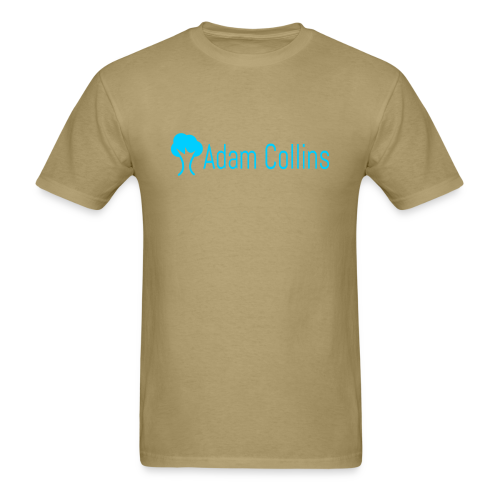 Khaki Logo - Men's T-Shirt