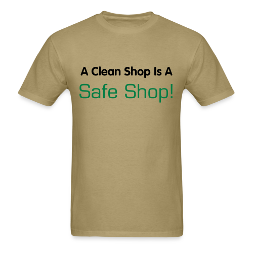 Cover that sawdust and spread the word! - Men's T-Shirt