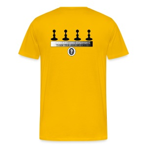 Don't Be A Pawn - Men's Premium T-Shirt