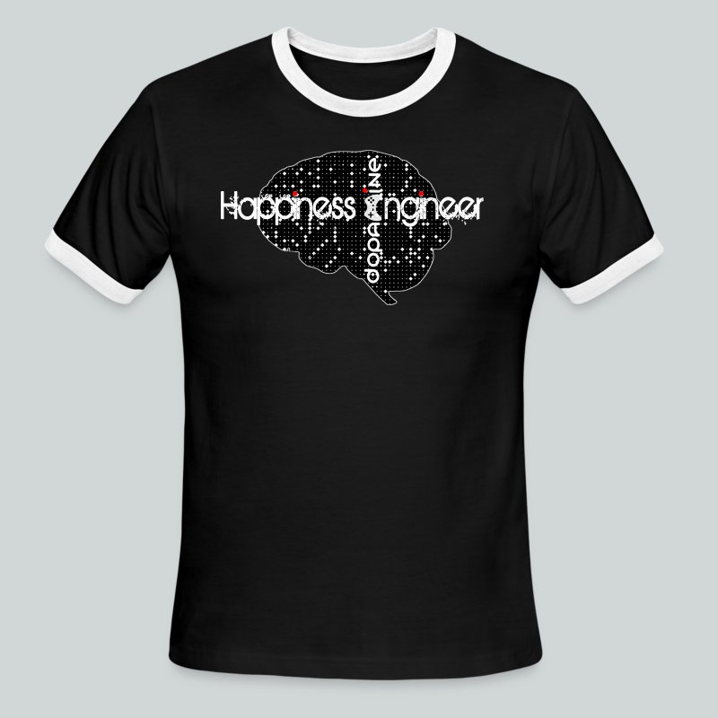 Happiness Engineer  GamefulHeroes Men's Ringer T-Shirt - Men's Ringer T-Shirt