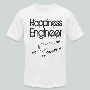 Happiness Engineer GamefulHeroes Men's T-Shirt by American Apparel - Men's T-Shirt by American Apparel