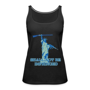 SHALL NOT BE INFRINGED 2 - Women's Premium Tank Top