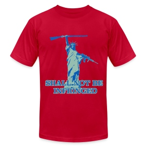 SHALL NOT BE INFRINGED 2 - Men's T-Shirt by American Apparel