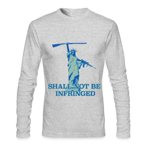 SHALL NOT BE INFRINGED 2 - Men's Long Sleeve T-Shirt by Next Level