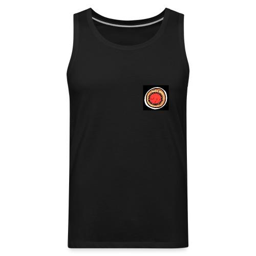Project World School 100% cotton black vest - men - Men's Premium Tank