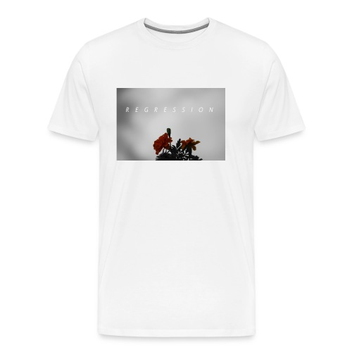 Lone Flowers T-Shirt - Men's Premium T-Shirt