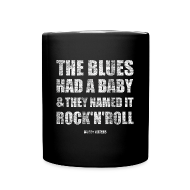 Mugs & Drinkware ~ Full Color Mug ~ the blues had a baby and they named it rock'n'roll
