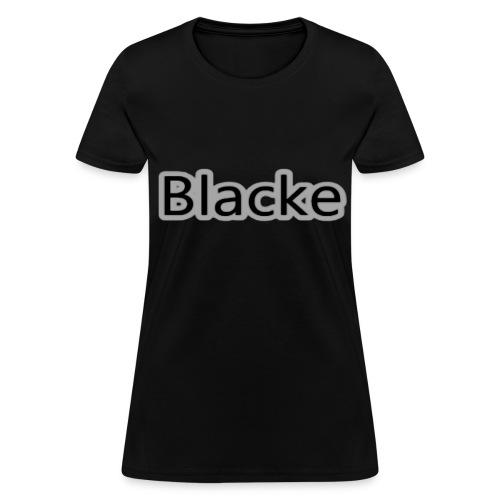 Womens - Blacke T-Shirt - Women's T-Shirt