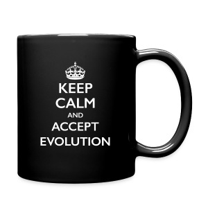 Keep Calm Accept Evolution - Full Color Mug