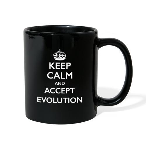 Keep Calm Accept Evolution - Full Color Mug