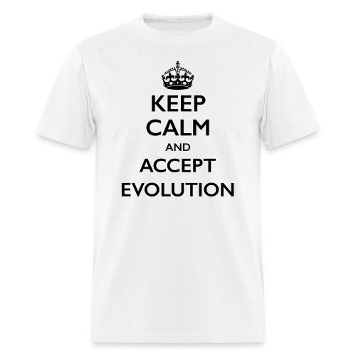 Keep Calm Evolution light