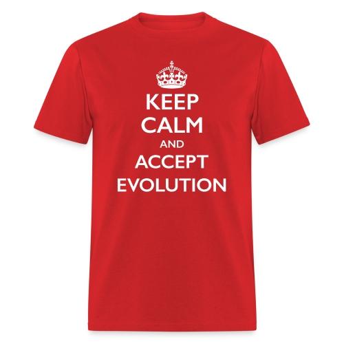 Keep Calm Evolution dark