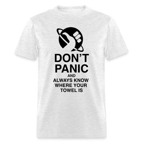 DON'T PANIC - Men's T-Shirt