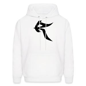 Roq Hoodie w/ Black Logo - Men's Hoodie