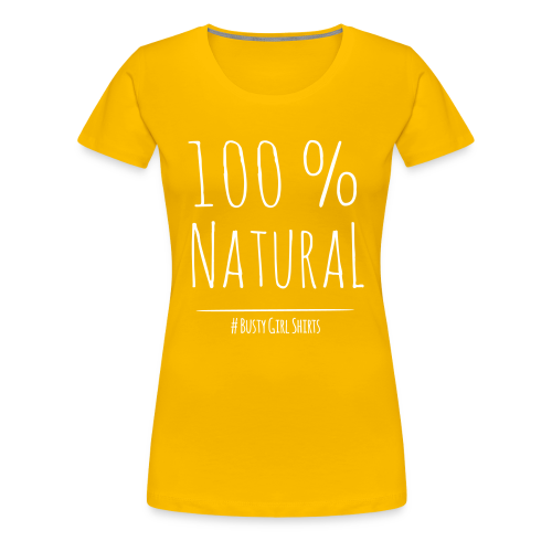 Premium T-Shirt Size: S - 3XL 100% natural - Women's Premium T-Shirt