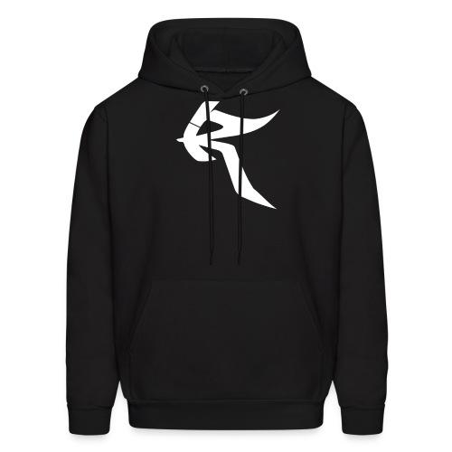 Roq Hoodie w/ White Logo - Men's Hoodie