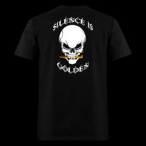 Silence Is Golden - Men's T-Shirt