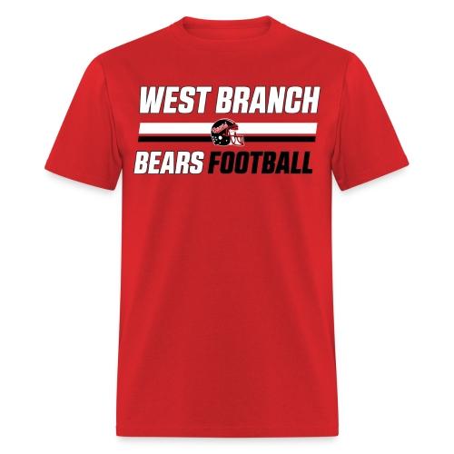 Stripes Red T-Shirt - Men's T-Shirt