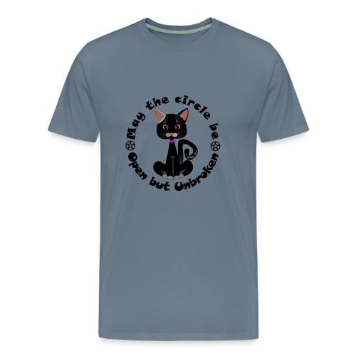 cat's witch Sisi - Men's Premium T-Shirt