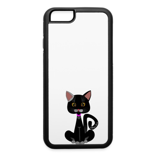cat's witch Sisi - iPhone 6/6s Rubber Case