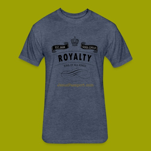 Royalty-God'sChild - Fitted Cotton/Poly T-Shirt by Next Level