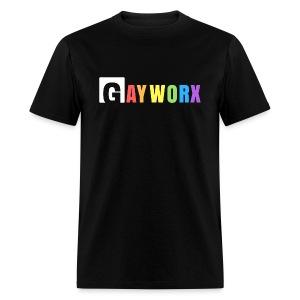 GayWorx Logo T - Men's T-Shirt