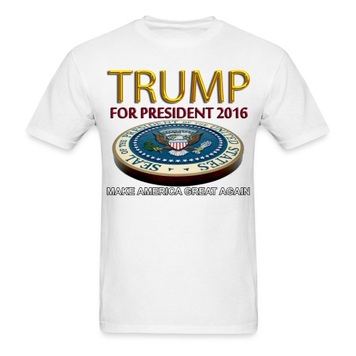 Trump For President 2016 - Men's T-Shirt