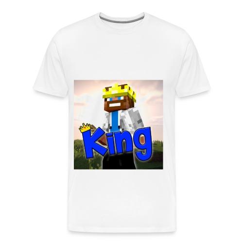 ItzzOnlyKing Minecraft Men's Premium T-Shirt  - Men's Premium T-Shirt