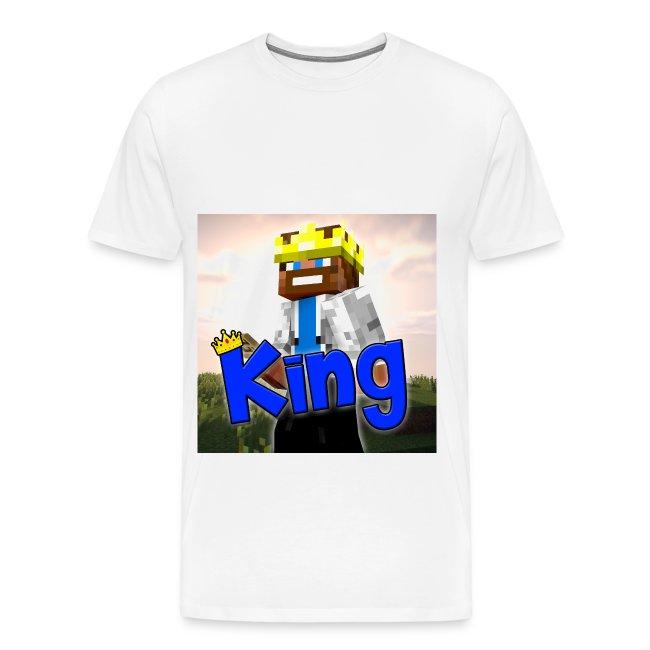ItzzOnlyKing Minecraft Men's Premium T-Shirt