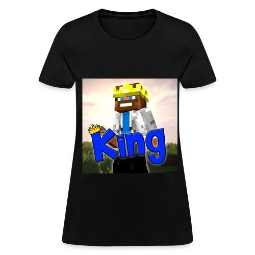 ItzzOnlyKing Minecraft Womens T-Shirt  - Women's T-Shirt