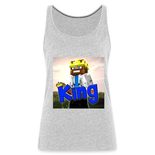 ItzzOnlyKing Minecraft Premium Women's Tank Top  - Women's Premium Tank Top
