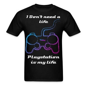 Playstation is life - Men's T-Shirt
