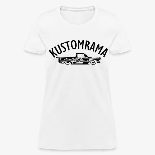 Dreamtruck Girl White - Women's T-Shirt