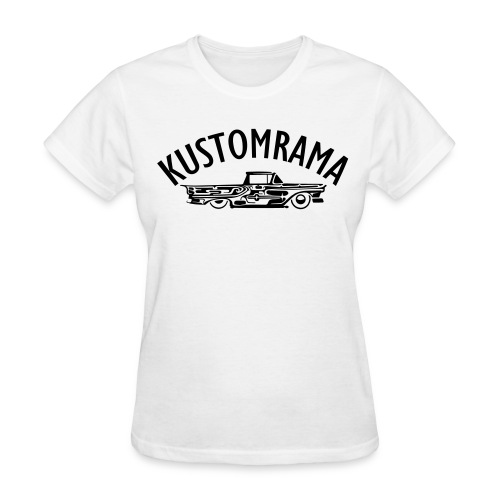 Dreamtruck Girl White - Women's T-Shirt