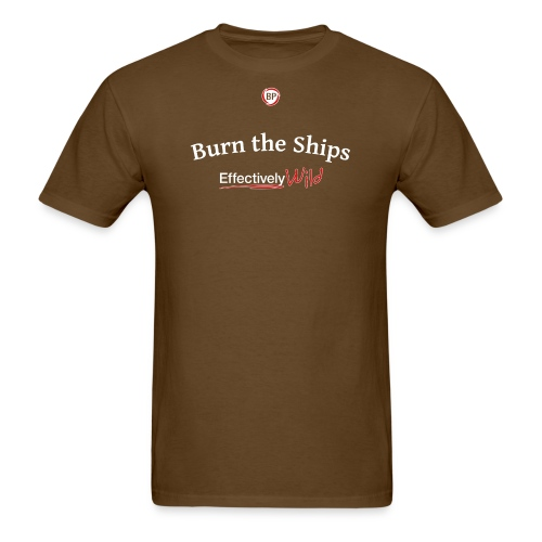 EW Burn - Men's T-shirt - Men's T-Shirt