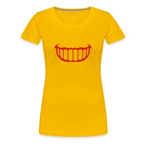 smile mouth 801 T-Shirts - Women's Premium T-Shirt