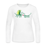 Long Sleeve Shirts ~ Women's Long Sleeve Jersey T-Shirt ~ Article 105455275
