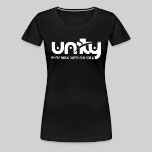Unity *Official* Women's Premium T- Shirt  (White Logo) - Women's Premium T-Shirt