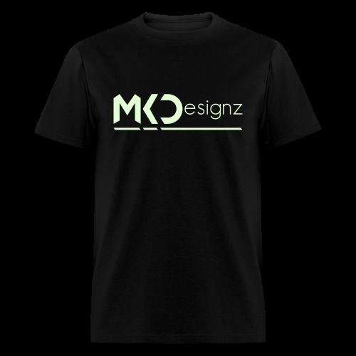 MK Designz Official Shirt (Glowin the Dark) - Men's T-Shirt