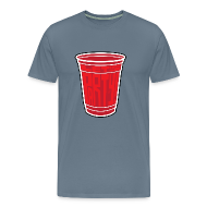 T-Shirts ~ Men's Premium T-Shirt ~ Red Cup Party by Tai's Tees