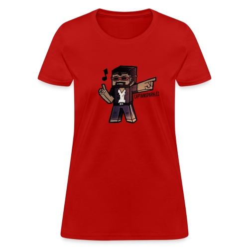 Cartoon Singer - Women's T-Shirt