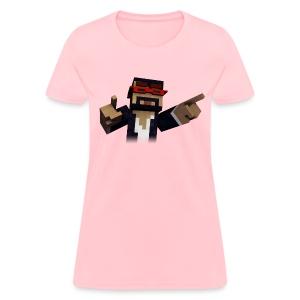3D Singer - Women's T-Shirt