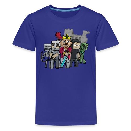 The Cast - Kids' Premium T-Shirt